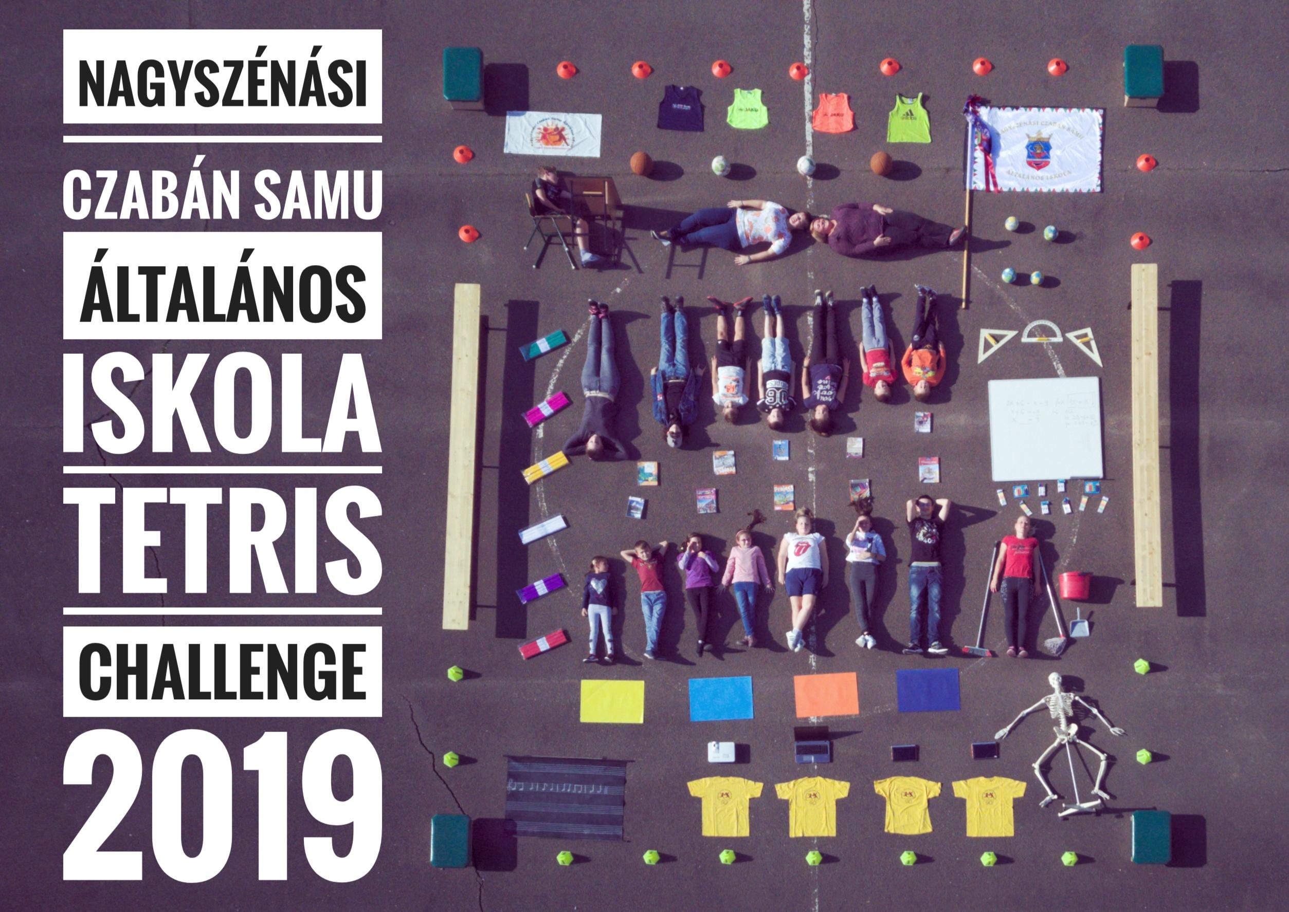 Nagyszénási Czabán Samu Általános Iskola TETRIS Challenge 2019